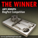 The Winner Anti Korupsi BlogPost Competition